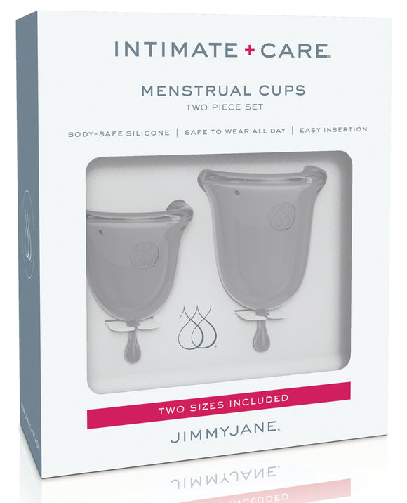 Jimmyjane Intimate Care Menstrual Cups - Clear