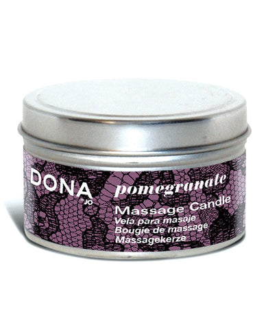 Dona By Jo Massage Candle 4 Oz - Pomegranate