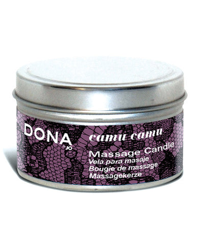 Dona By Jo Massage Candle 4 Oz - Camu Camu