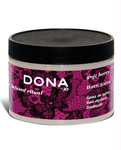 Dona By Jo Bath Salts 9 Oz - Goji Berry