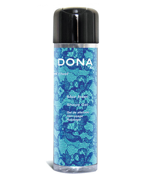 Dona By Jo Shave Gel 8.5 Oz - Blue Lotus