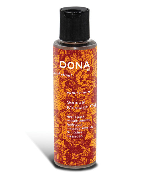Dona By Jo Massage Oil 4.7  Oz - Camu Camu