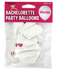 Bachelorette Party Balloons - Hash Tag Bride