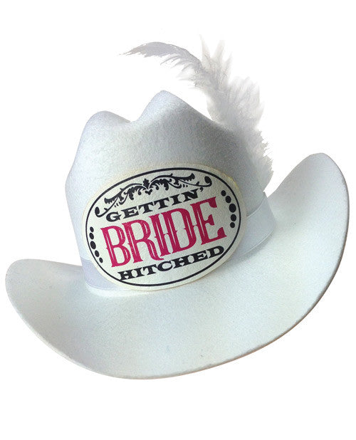 Gettin' Hitched Mini Bride Hat