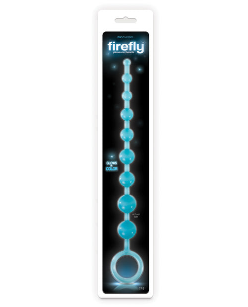 Firefly Pleasure Beads - Blue