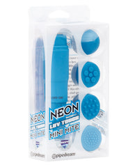 Neon Luv Touch Mini Mite Waterproof - 4 Interchangeable Heads Blue