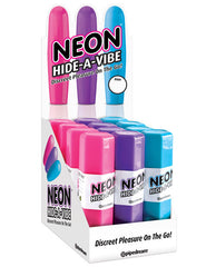 Neon Hide A Vibe Display - Asst. Colors Box Of 12