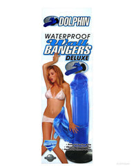 Wall Bangers Waterproof Deluxe Dolphin - Blue