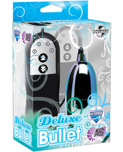 Deluxe Bullet Waterproof Vibe - Multi Speed Blue