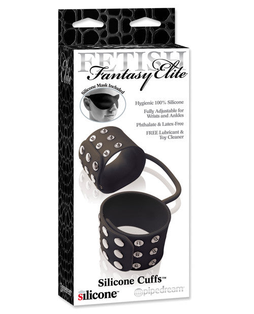 Fetish Fantasy Elite Silicone Cuffs - Black