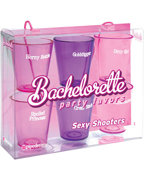Bachelorette Party Favors Sexy Shooters - Pack Of 6