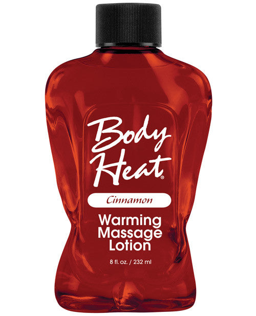 Body Heat Lotion - 8 Oz Cinnamon