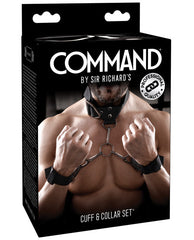 Sir Richards Command Cuff & Collar Set