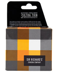 Sir Richard's Ultra Thin Condom - Pack Of 3