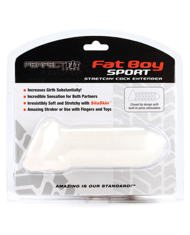 "Perfect Fit Fat Boy Sport 6"" Extender - Clear"