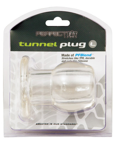 Perfect Fit Large Tunnel Plug - Clear