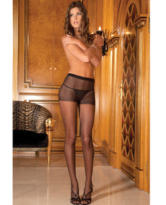 Rene Rofe Sheer Pantyhose Black O/s