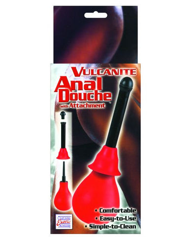 Vulcanite Anal Douche W/attachment