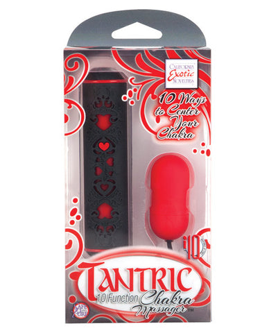 Tantric 10 Function Chakra - Red