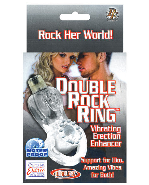 Double Rock Ring Vibrating