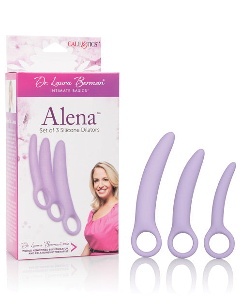 Dr. Laura Berman Alena Silicone Dilators - Set Of 3