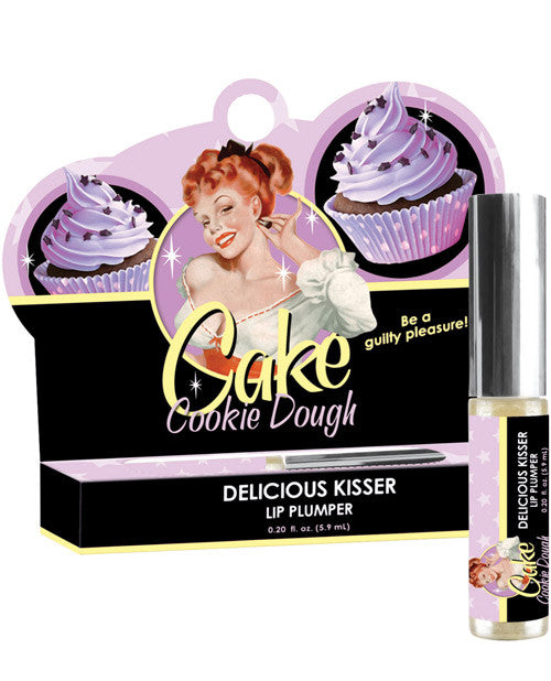 Cake Delicious Kisser Lip Plumper - Cookie Dough .20 Oz Tube