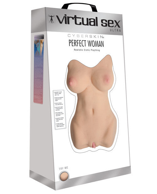 Cyberskin Virtual Sex Ultra Perfect Woman Realistic Erotic Plaything - Asian