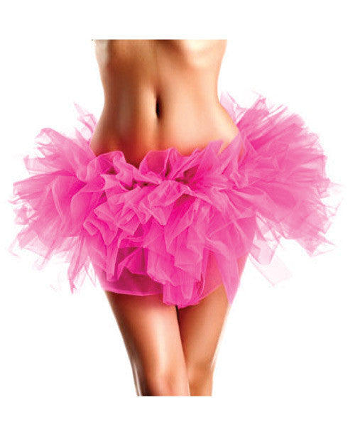 Layered Organza Tutu Hot Pink O/s