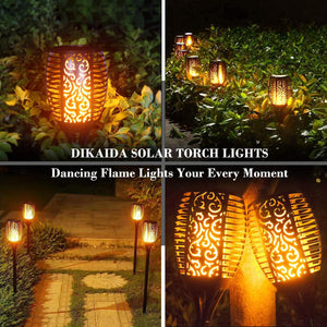 Halloween sale 50%OFF🔥Solar Flame Smart Torch Light