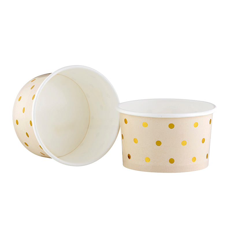 Pink Polka Dot Treat Cups