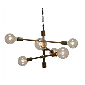 Six light Cluster Fixture