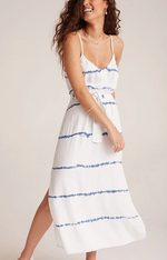 Smocked Waist Maxi Dress by Bella Dahl
