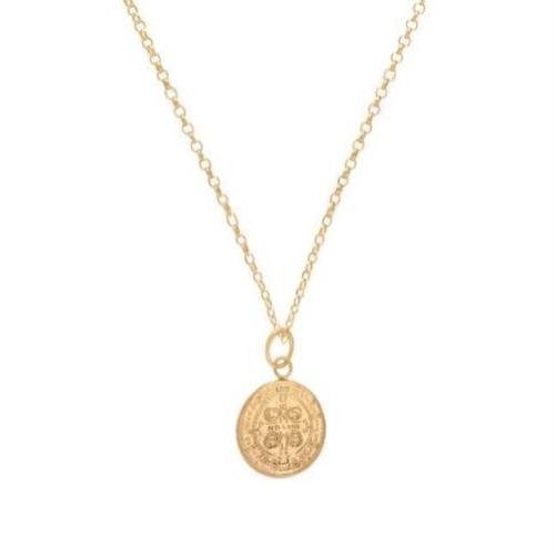 Blessing Small Gold Charm Necklace