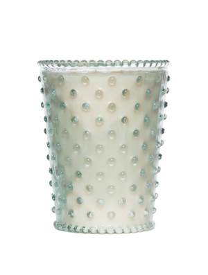 Load image into Gallery viewer, Creme Fraiche Hobnail Candle