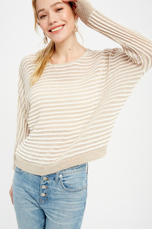 Daphne Striped Sweater