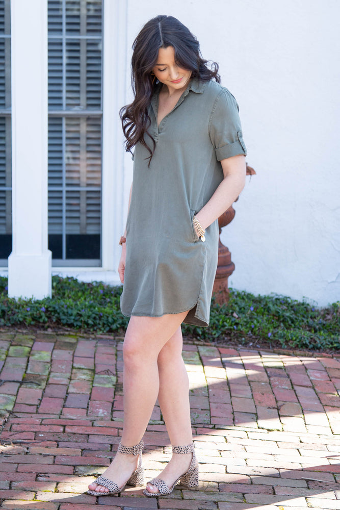Load image into Gallery viewer, Olivia Tunic Dress