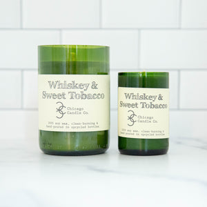 Load image into Gallery viewer, Whiskey & Sweet Tobacco Candle 11 oz