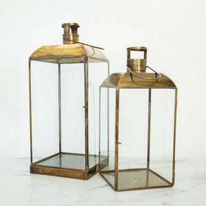 Load image into Gallery viewer, Bexley Brass Lantern