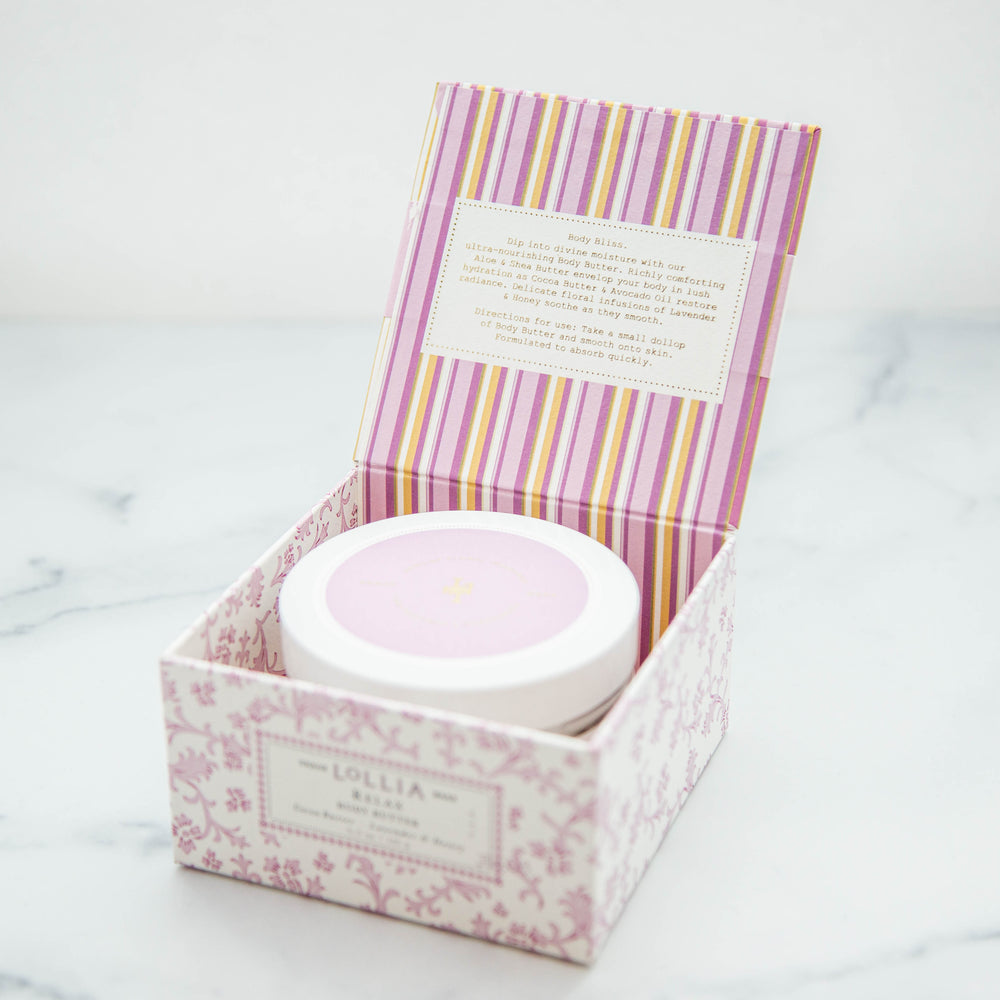 Relax Perfumed Shea Body Butter by Lollia