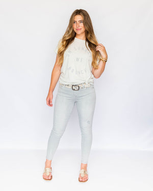 Load image into Gallery viewer, Gisella Grey Skinny Jean