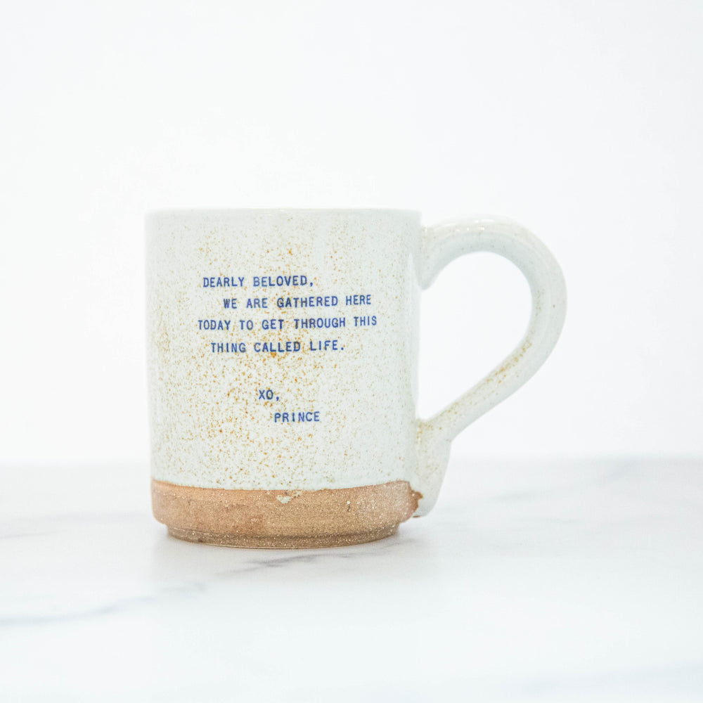 Speckled  Mug - Quotes From Famous People