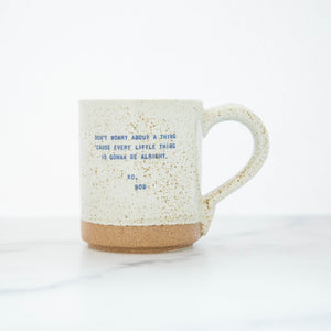 Load image into Gallery viewer, Speckled  Mug - Quotes From Famous People