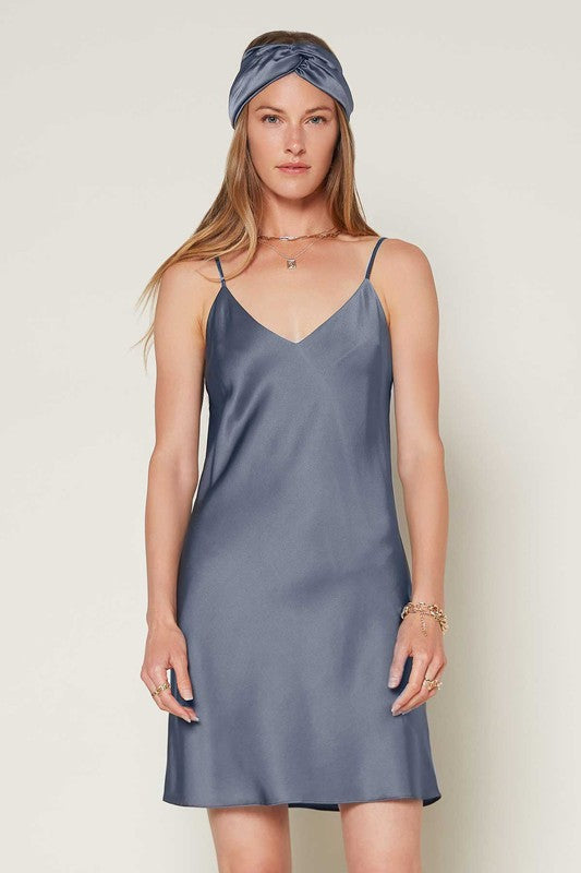 Load image into Gallery viewer, Spaghetti Strap Slip Dress