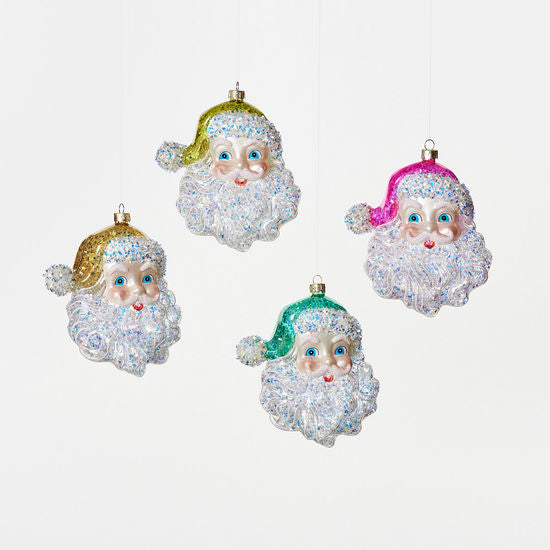 Load image into Gallery viewer, Cheerful Santa Ornament