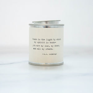 Yours is the Light Soy Wax Candle