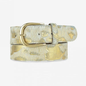 Load image into Gallery viewer, Dottie Calf Hair Belt