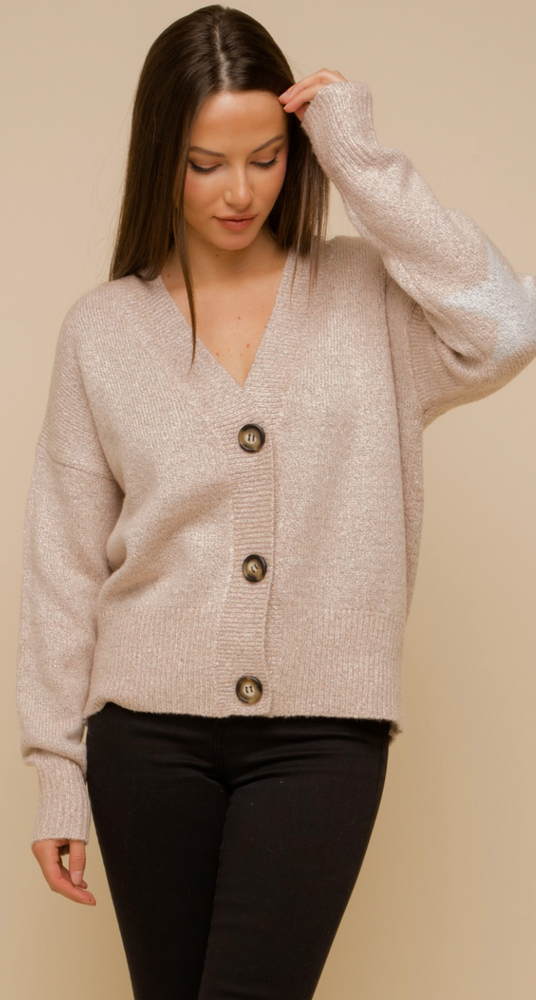 Blush Star Detailed Sweater