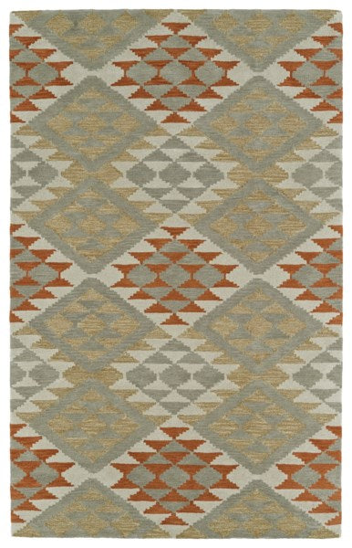 Load image into Gallery viewer, Geometric Paprika Rug