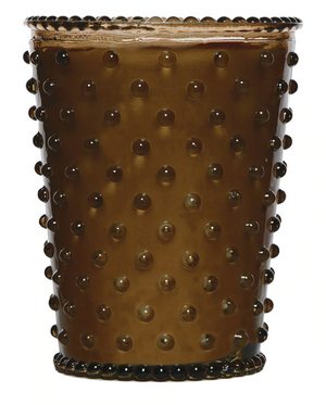 Load image into Gallery viewer, Cocoa Almond Hobnail Candle