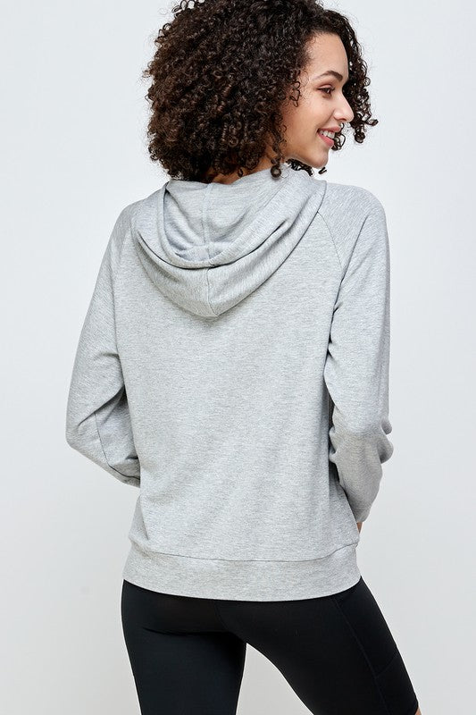 Load image into Gallery viewer, Long Sleeve Hoodie Sweatshirt